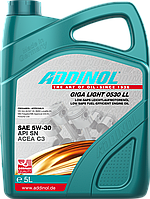 ADDINOL Giga Light MV 0530 LL - синтетическое моторное масло