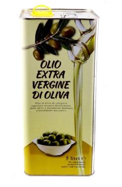 Масло оливковое «Di oliva» E.V. 5L