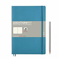 Блокнот Leuchtturm1917 Мягкая обложка Средний (B5) Холодный синий с Чистыми листами (17,8х25,4 см) (355299), фото 1