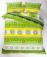 Постельное белье Lotus Ranforce - Sweet зеленое двуспальное