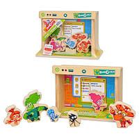 Деревянная игрушка Игра-логика GT 6024   Фиксики, 21-6-18см