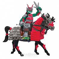Игровой набор серии Черепашки-Ниндзя Самураи Эксклюзивная фигурка Рафаэля на лошади