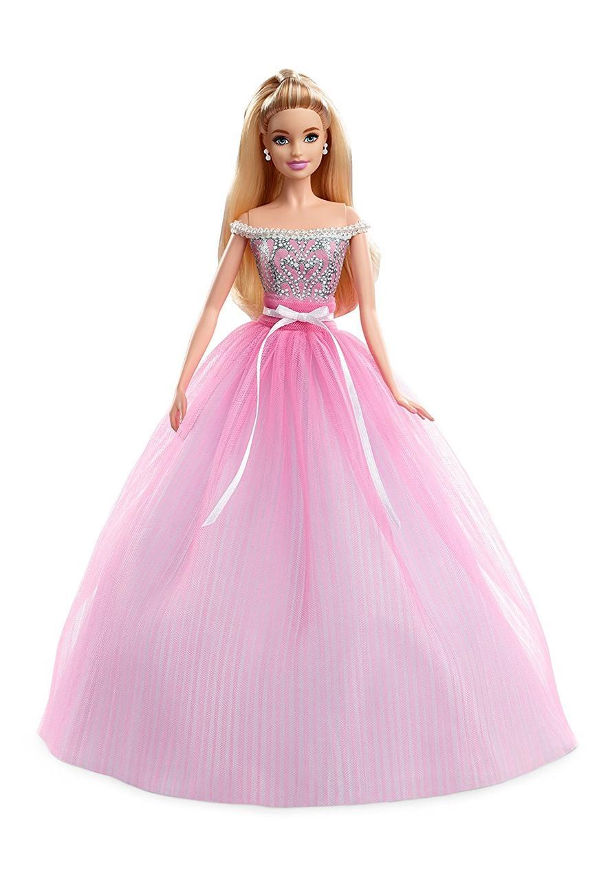 Кукла Барби Barbie коллекционная Особый День рождения Barbie Girls Collector Birthday Wishes Doll DVP49