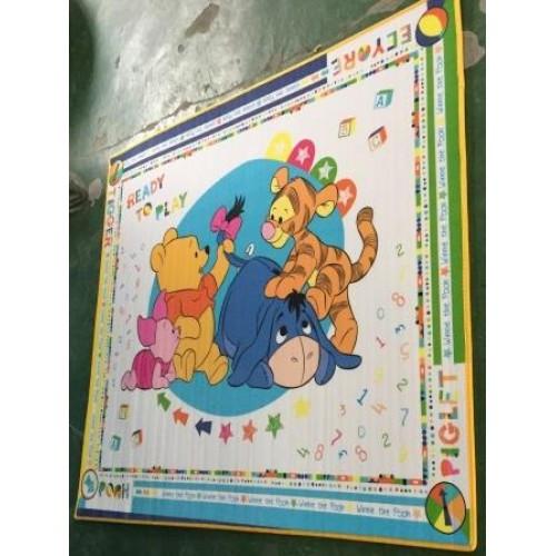"""Детский развивающий коврик  Babypol """"Веселые друзья"""" размером 1800*1500*10 мм"""