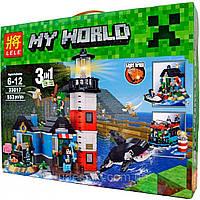 Конструктор Майнкрафт Lele Minecraft 33017 Маяк 3в1 553 дет (аналог LEGO Creator 31051)
