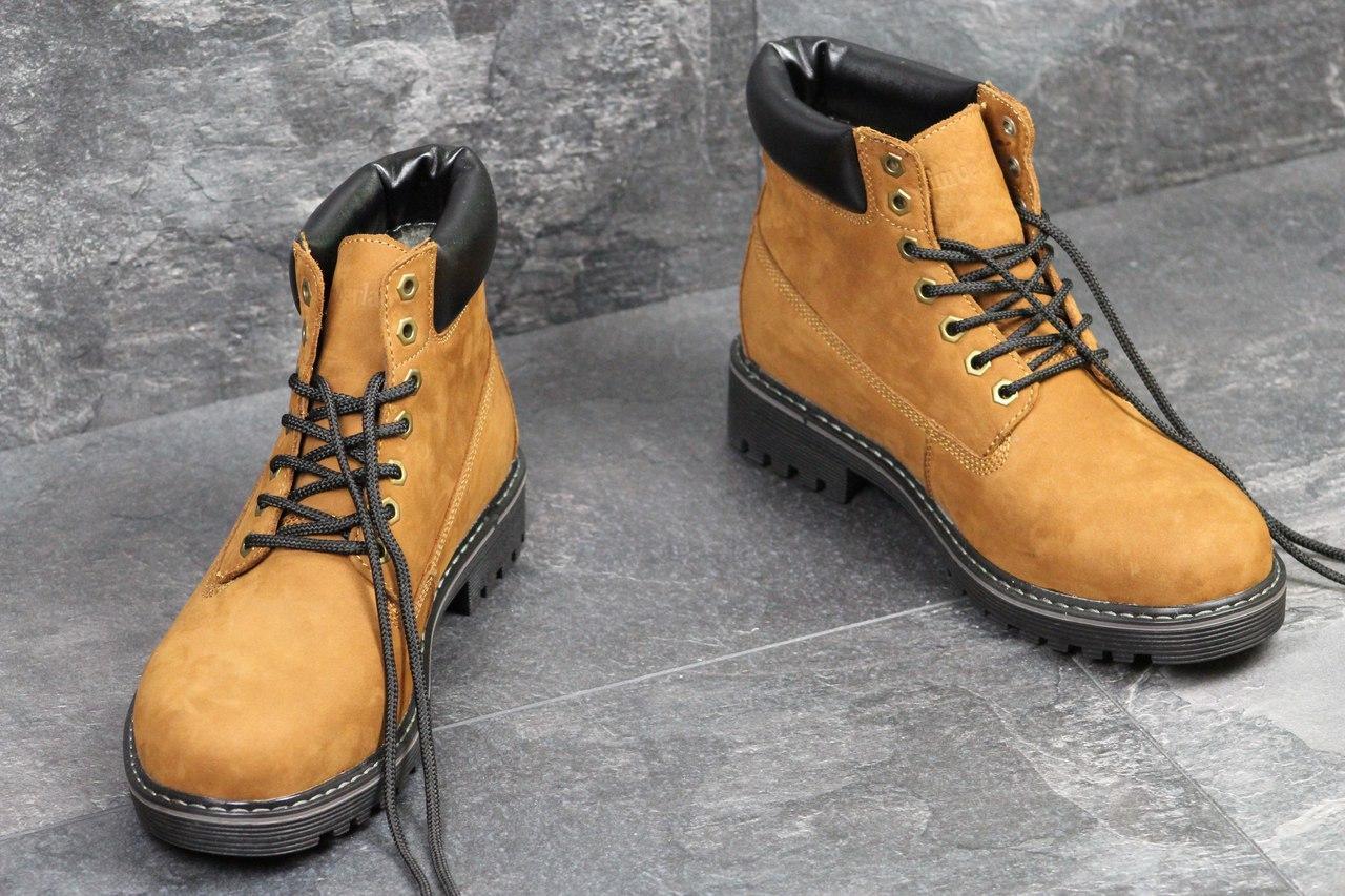 c589063e8abb Я в шоке!™   Мужские зимние ботинки Timberland рыжие 3515. Цена ...