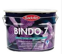 Матовая моющаяся краска для стен и потолка BINDO 7  BС (9,3л.)
