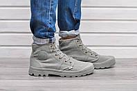 Мужские ботинки Palladium Pampa Hi на шнуровке