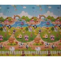 """Детский развивающий коврик  Babypol """"Сказочная ферма"""" размером 1800*1500*10 мм"""