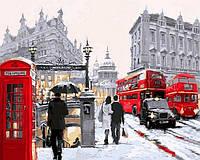 """VP764 Раскраска по номерам """"Лондонский дождь"""""""
