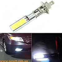 Авто-лампы H1 2 COB LED 6000K светодиодные лампочки, лучше чем галогенки и ксенон
