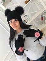 Женские перчатки №40-8804