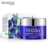 Акция! Азиатский увлажняющий энергетический чудо-крем для лица с экстрактом черники BioAqua Essence Cream