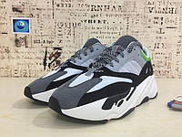 Мужские кроссовки Adidas Yeezy 700 Runner Boost серые