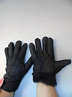 Перчатки кожаные мужские зима