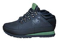 Зимние мужские кроссовки New Balance 754, черные, на меху