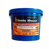 Огнебиозащитная краска для дерева Bionic House