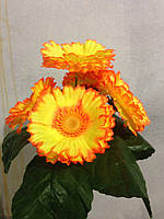 Искусственные цветы Маргаритка заливка натуральная