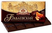 Шоколад Бабаевский  с апельсиновыми кусочками и миндалем кондитерской фабрики Бабаевский 100 грамм