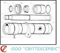 23,24 Подъемное устройство на Н2500 подъемный цилиндр