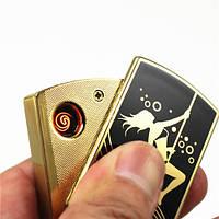 Оригинальная USB Зажигалка Panthera Танцовщица, 1001706, USB зажигалка, USB зажигалка прикуриватель, зажигалка