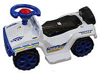 Каталка машинка джип Хаммер Полиция белый Орион 419