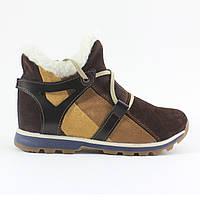 Женские спортивные замшевые зимние ботинки UNCIA SHOES