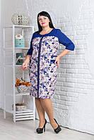 Женское платье больших размеров   Жіноче плаття великих розмірів f6e2cb980556c