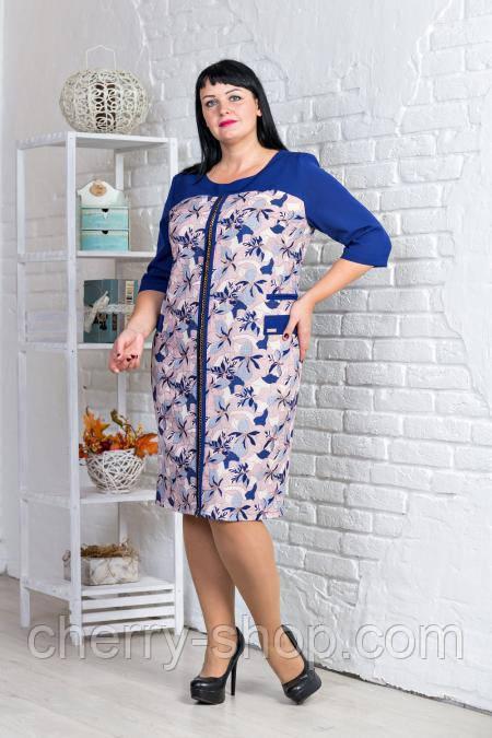 Купить Женское платье больших размеров   Жіноче плаття великих ... fe9567070ceb8