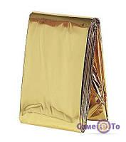 Рятувальна термозахисна ковдра 130х210 см., 1000784, рятувальна ковдра, космічна ковдра, термічна ковдра, термо ковдра, ізотермічна ковдра,