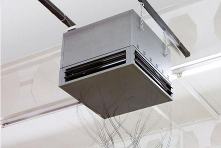 Тепловентилятор внутренний ТЭВ-24-380, фото 2