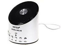 Портативна Bluetooth колонка WS-887 Mini Speaker, 1001059, портативна колонка, купити портативну колонку, портативна колонка з радіо, портативна