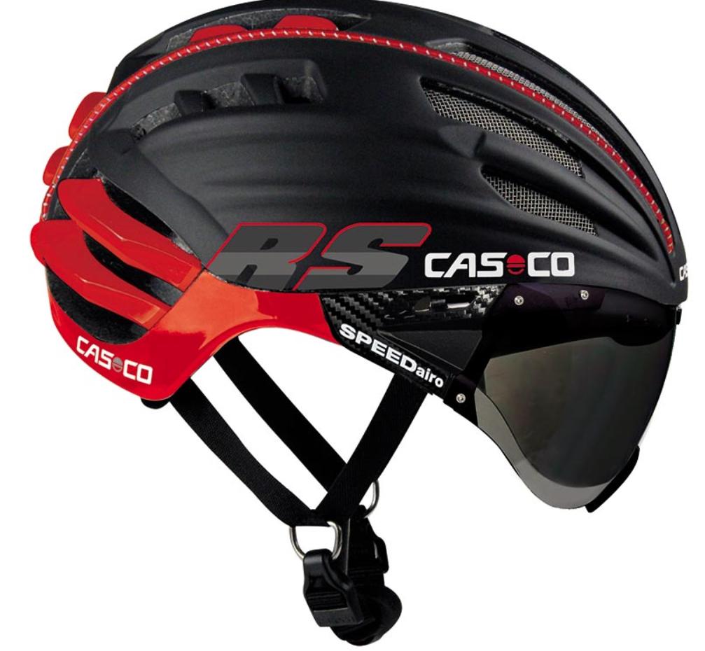 Велошлем Casco SPEEDairo RS black-red