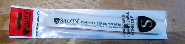 Пилка Salon ProfessionalDIAMOND original 80*80узкая