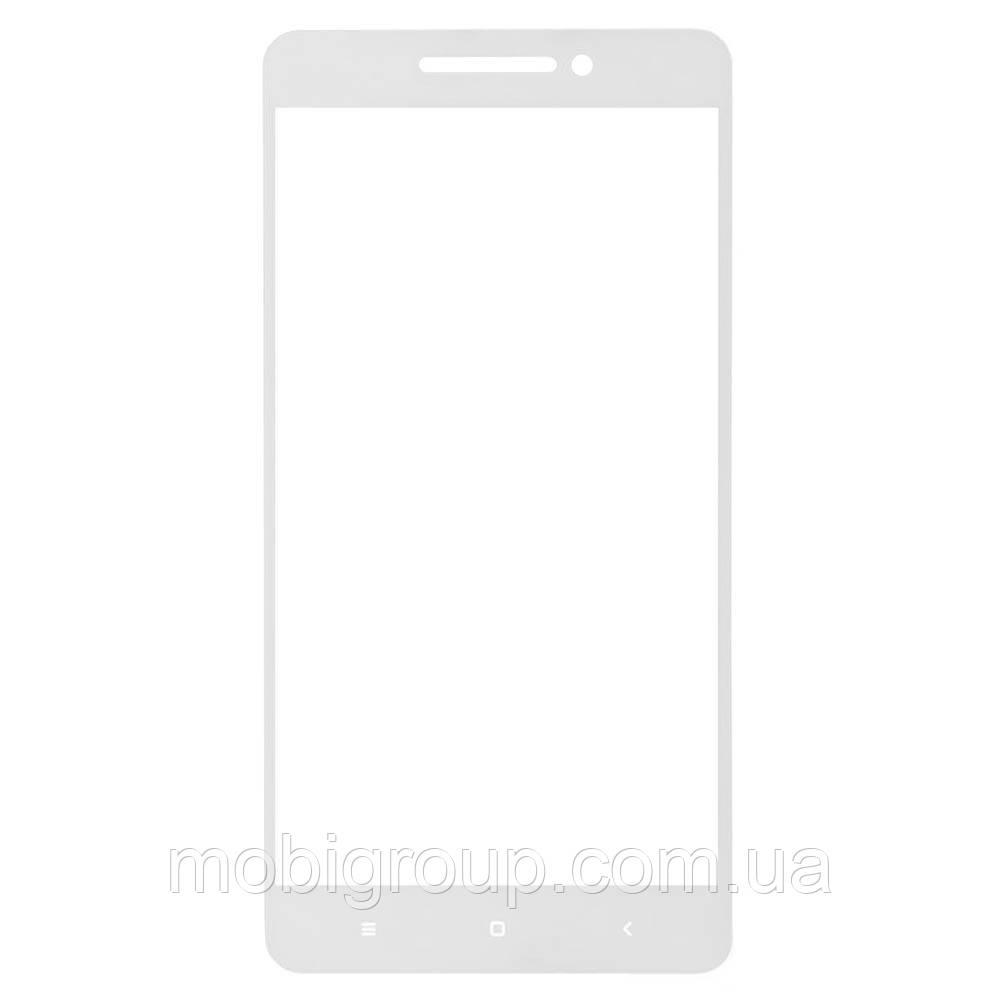 Стекло защитное 2D Xiaomi Mi 4a, White