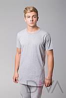 Недорогая футболка мужская MMB Турция SDK-F1grey