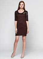 1059 Платье коричневое: imprezz.com.ua