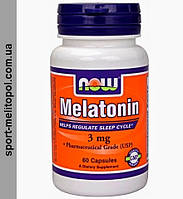 NOW	Liquid Melatonin	60 ml