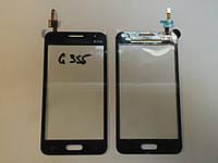 Сенсор Тачскрин G355H Galaxy Core 2 Duos / G355HN Galaxy Core 2 black h/c (TESTED)
