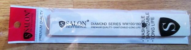 Пилка Salon ProfessionalGRANIT original 100*180 широкая