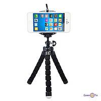 Гнучкий штатив для фотоапаратів і відеокамер Восьминіг, 1001179, 0