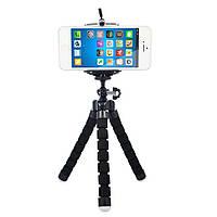"""Универсальный держатель """"Тренога"""" мини гибкий штатив для фотоаппаратов и видеокамер, 1001179, штатив универсальный, Универсальный держатель """"Тринога"""""""