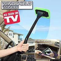Швабра для чищення скла автомобіля Windshield Wonder, 1000420, швабра для лобового скла, чистка лобового скла, миття лобового скла, щітка для чищення