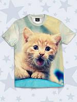 Детская футболка Orange cat