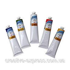 Фарба олійна, Білила титанові, 120мл, Ладога, фото 3