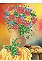 Цветы в вазе. СВ-3001 (А3)