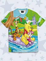 Детская футболка Винни с друзьями
