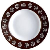 Тарелка LUMINARC SIROCCO BROWN /22 см/суп. (H4886)