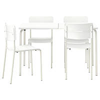 VÄDDÖ, стол+4 стульев, на открытом воздухе