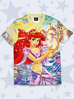 Детская футболка Принцесса Русалочка
